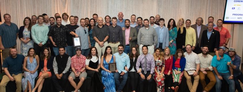 TBF 2018 Ceremony Award Winners