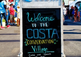 Kicking Plastic and Billfish Education at Costa's Conservation Village | The Billfish Foundation
