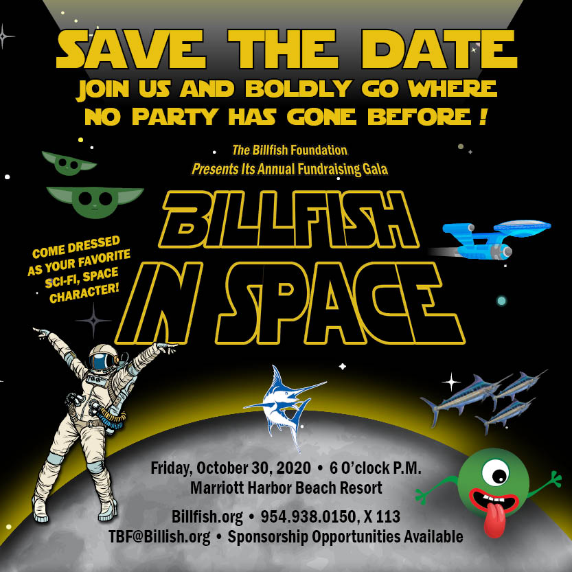 Billfish In Space Annual Gala - The Billfish Foundation